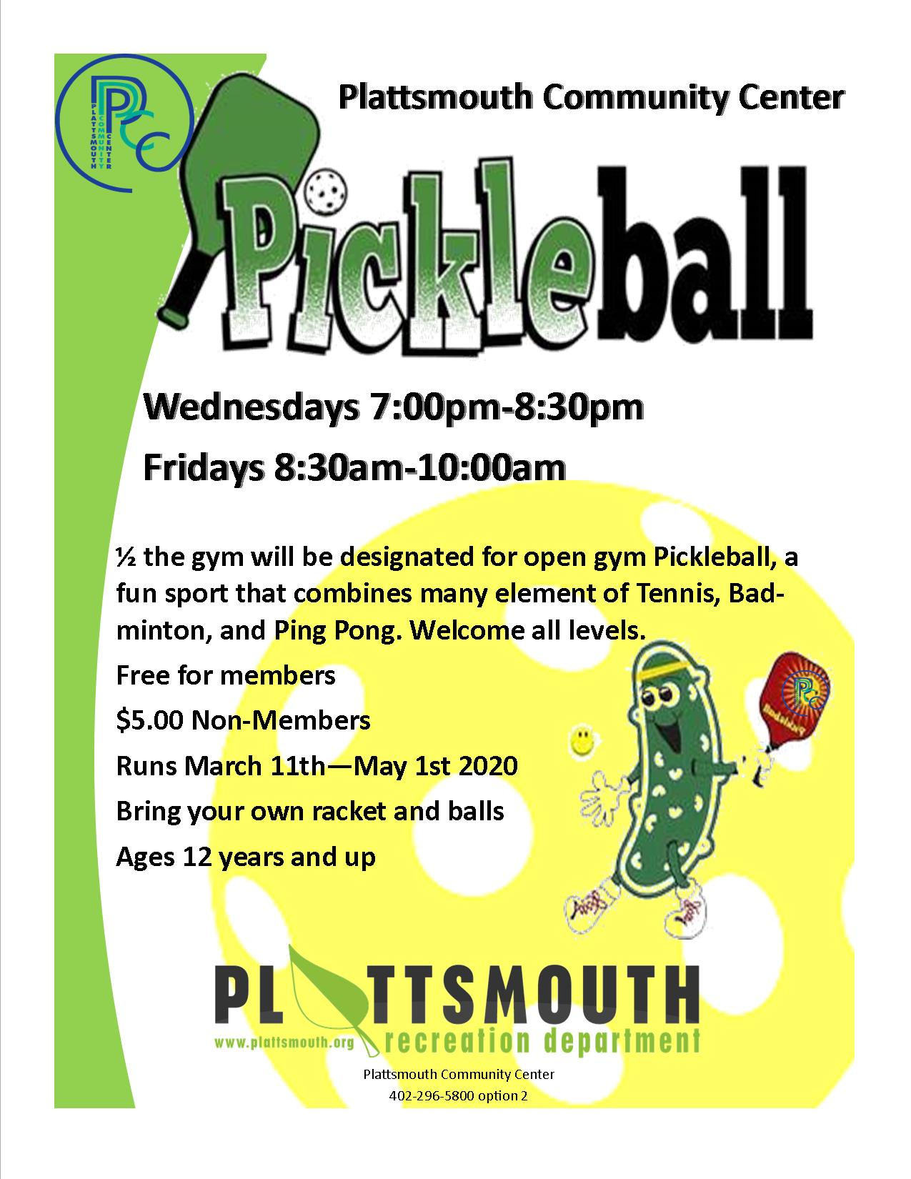 Spring Pickleball